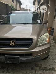 Honda Pilot 2004 LX 4x4 (3.5L 6cyl 5A) Brown | Cars for sale in Lagos State, Magodo