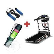 3HP Treadmill With Massager + Free Weight Skipping Rope and Yoga Mat | Sports Equipment for sale in Lagos State, Lekki Phase 2