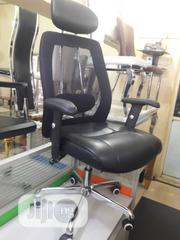 Standard Net & Leather Office Chair   Furniture for sale in Lagos State, Maryland