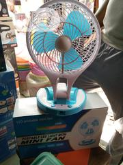 Mini Table Rechargeable Fan   Home Appliances for sale in Lagos State, Lagos Island