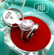 Crystal-ball Titanium Wedding Rings | Wedding Wear for sale in Lagos State