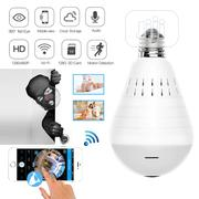 LED Light Camera 960P Wireless Panoramic Home Security Wifi CCTV Bulb   Security & Surveillance for sale in Lagos State, Ikeja