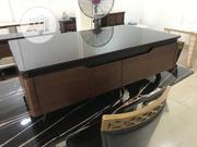 Classic Pure Wooden Plasmas Tv Stand and Center Table | Furniture for sale in Lagos State, Ojo