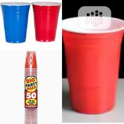 Quality Imported Dispsosable Cup 50pcs | Manufacturing Materials & Tools for sale in Lagos State, Lagos Island