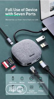 Type-c Multifunctional Hub Adapter Fabric Series   Accessories & Supplies for Electronics for sale in Lagos State, Ikeja