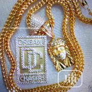 Pure Gold 18karat Necklace With Pendant Is Available | Jewelry for sale in Lagos State, Yaba
