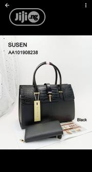 Susan Female Black Leather Handbag | Bags for sale in Lagos State, Amuwo-Odofin