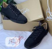 Christian Louboutin Men'S Sneakers Shiny Black | Shoes for sale in Lagos State, Ikeja
