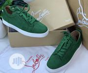 Christian Louboutin Men'S Sneakers Green | Shoes for sale in Lagos State, Ikeja