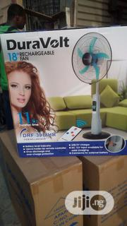DRF-3918HR 18inches Duravolt Rechargeable Fan   Home Appliances for sale in Lagos State, Ojo
