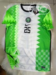 Nigeria Official Super Eagles Home Jersey Customized | Clothing for sale in Lagos State, Surulere