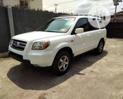Honda Pilot 2006 EX 4x2 (3.5L 6cyl 5A) White | Cars for sale in Lagos State, Ojodu