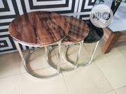 Marble Side Stools | Furniture for sale in Rivers State, Port-Harcourt