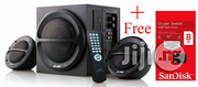 F&D Multimedia Subwoofer/Speakers A111F + Free Sandisk 8GB Flash Drive | Audio & Music Equipment for sale in Lagos State, Ikeja
