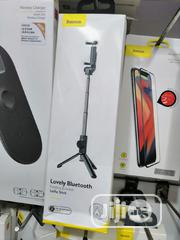 Bluetooth Lovely Bracket Folding Selfie Stick Baseus | Accessories for Mobile Phones & Tablets for sale in Lagos State, Ikeja