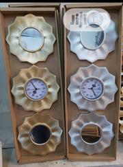 Mirror and Clock Set | Home Accessories for sale in Lagos State, Kosofe