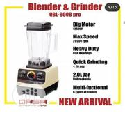 Qasa Heavy Duty Blender and Grinder 1250W | Kitchen Appliances for sale in Lagos State, Lagos Island