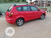 Pontiac Vibe 2005 1.8 AWD Red | Cars for sale in Lagos State, Ojodu