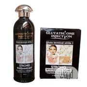 Glutathione Injection Strong Whitening Milk Lotion + Whitening Soap | Bath & Body for sale in Lagos State, Ojo