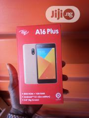 New Itel A16 Plus 8 GB Gold | Mobile Phones for sale in Lagos State, Ikorodu