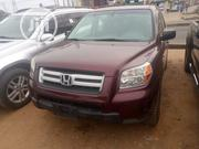 Honda Pilot 2007 LX 4x4 (3.5L 6cyl 5A) Red | Cars for sale in Lagos State, Alimosho