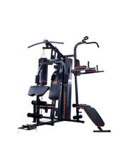 5 Multi Station Gym With Punching Bag and Situp Bench   Sports Equipment for sale in Lagos State, Surulere