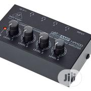 Behringer Ultra Compact 4 Channel Stereo Headphone Amplifier | Headphones for sale in Lagos State, Ojo