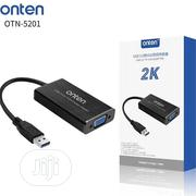 Onten USB 3.0 to VGA Adapter 2k | Accessories & Supplies for Electronics for sale in Rivers State, Port-Harcourt
