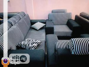 High Quality 7 Seater Fabric Sofa Chair
