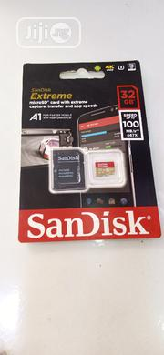 Sandisk Sandisk Extreme 32GB Microsdhc Memory Card + SD Adapter | Accessories for Mobile Phones & Tablets for sale in Lagos State, Ikeja