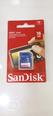 Sandisk 16GB Memory Card Class 4 SDHC Camera | Accessories for Mobile Phones & Tablets for sale in Lagos State, Ikeja
