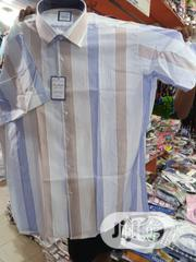 Pure Italian Men Short Sleeve Shirts   Clothing for sale in Lagos State, Surulere