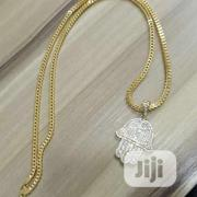 Pure Italy Gold Chain and Pendant Is Available With Affordable Price   Jewelry for sale in Lagos State, Yaba