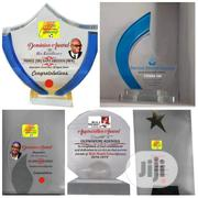 All Glass Award With Branding Available | Arts & Crafts for sale in Lagos State, Ikeja
