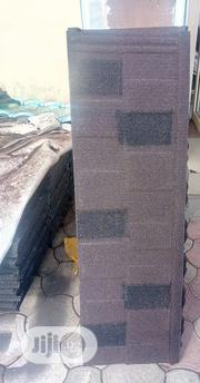 Coffee and Black Stone Coated Roofing Sheet in Docherich | Building & Trades Services for sale in Lagos State, Ajah