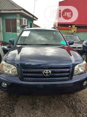 Toyota Highlander 2004 Limited V6 4x4 Blue | Cars for sale in Lagos State, Agege