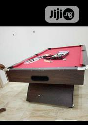 Snooker Board Table With Accessories Curved Legs   Sports Equipment for sale in Lagos State, Victoria Island