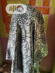 Silver Patterned Velvet Sample Material. | Clothing for sale in Lagos State, Amuwo-Odofin