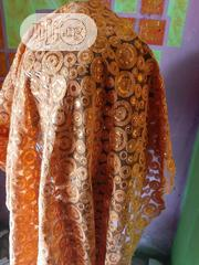 Orange Colored Sequined Sample Lace | Clothing for sale in Lagos State, Amuwo-Odofin