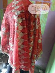 Red And Champagne Gold Lace | Clothing for sale in Lagos State, Amuwo-Odofin