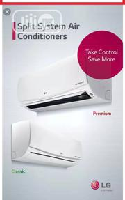 Original LG Inverter 1HP Split Air Conditioner | Home Appliances for sale in Lagos State, Ojo