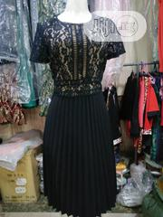 Lace Plitted Gown Dress for Official Outings | Clothing for sale in Lagos State, Maryland
