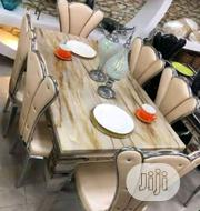 160 High Quality Six Seater Marble Dining Table | Furniture for sale in Lagos State, Lekki Phase 2