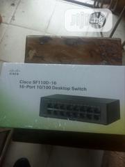 Cisco Sf 110d -16 -16port 10/100 Desktop Switcj | Networking Products for sale in Lagos State, Ikeja