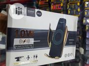 Hocotech Automatic Induction Wireless Charging Car Holder(Gold)   Accessories for Mobile Phones & Tablets for sale in Lagos State, Ikeja