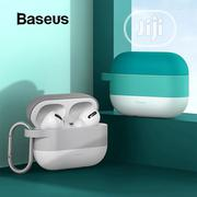 Baseus Cloud Hook Silica Gel Protective Case For Airpods Pro | Accessories & Supplies for Electronics for sale in Lagos State, Ikeja