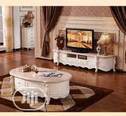 Royal Marble Top Tv Stand And Table   Furniture for sale in Lagos State, Ojo
