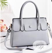 Belle Button Grey Bag | Bags for sale in Abuja (FCT) State, Lugbe District