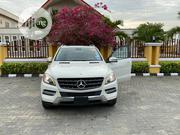 Mercedes-Benz M Class 2012 White   Cars for sale in Lagos State, Ikeja