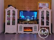 Fire Place Tv Stand With Wine Bar   Furniture for sale in Lagos State, Mushin